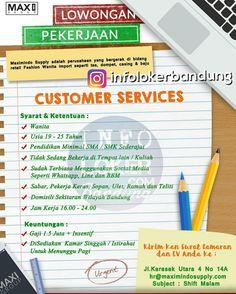 Lowongan Kerja Customer Service Online Maxi Grup September 2017