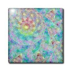 """Abstract Digital Art With Textures - 12 Inch Ceramic Tile by Cassie Peters. $22.99. Construction grade. Floor installation not recommended.. Image applied to the top surface. High gloss finish. Clean with mild detergent. Dimensions: 12"""" H x 12"""" W x 1/4"""" D. Abstract Digital Art With Textures Tile is great for a backsplash, countertop or as an accent. This commercial quality construction grade tile has a high gloss finish. The image is applied to the top surface and can..."""