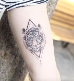 Wild Tiger Tattoo