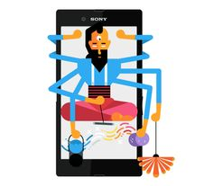 Sony Xperia Z Ultra: The Big Show on Behance