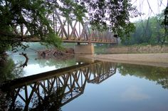 Reflective Trestle by Duane Klipping on 500px