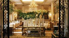 Le Cinq | Paris Michelin-Star Restaurant | Four Seasons Hotel Paris---super fancy one in Paris if we want a splurge.  Need reservations
