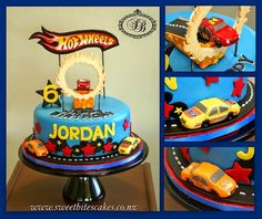 Hot Wheels Racing League: Hot Wheels Birthday Party Cakes - Awesome! #hotwheels #cakes