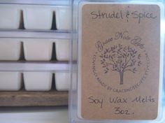 STRUDEL+&+SPICE+Soy+Wax+Tarts+Strudel+and+Spice+by+gracenotegifts,+$3.50
