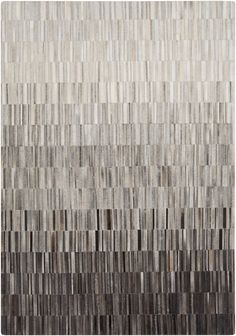 Surya Outback OUT1010 Grey/Neutral Hides and Leather Area Rug