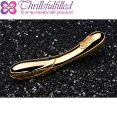 Inmi D-Oro 24k Gold Plated Warming Vibrator is an exquisitely crafted and opulent pleasure toy, lavishly crafted from 24 karat gold plate and featuring a powerful motor that offers delicious warmth and sensuous vibration. Let the chill of real gold send shivers of anticipation across your skin, then feel yourself melt as D-Oro quickly warms against you. - $1760 https://www.thrillsfulfilled.com/product/inmi-d-oro-24k-gold-plated-warming-vibrator/