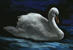 """The Beauty of Oil Painting, Series 1, Episode 11, """"Swan at Lithia Park"""""""