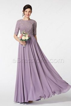 752658bd78e Cheap modest bridesmaid dresses