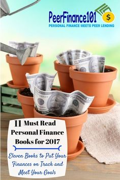 Make your personal finance resolutions stick with these top books to meet your goals! More than 10 of the best personal finance books in different categories to get your money on track this year. Great tips on making money, investing, saving and managing debt.