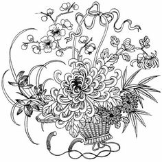 Coloring and painting round patterns ~ Craft , handmade blog
