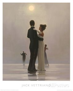 Tanssita minua rakkauden loppuun Julisteet tekijänä Jack Vettriano AllPosters.fi-sivustossa