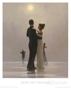 Tanz mit mir bis ans Ende der Liebe Kunstdruck