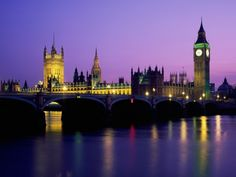I have always wanted to go to London.