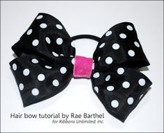 ribbons unlimited inc.: Hair Bow Tutorial by Rae