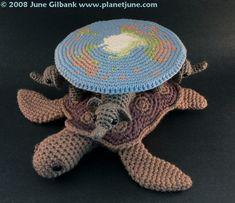 "Terry Pratchett's ""Discworld"" as Amigurumi Crocheted by PlanetJune"