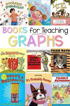Find graphing activities and lessons on probability to build math skills and keep kids engaged as they learn this math concept in elementary school (Kindergarten, first grade, and second grade). There are ideas for teachers about different types of graphs: bar graphs, pictographs, line charts, pie charts, and graphs with tally marks. Grab a free graphing boardgame and children's book list. Students will have fun in hands-on ways as they learn more about each other as they collect and sort data!
