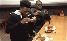 Where are his manners, damn! #Food #Funniest #Funny #FunnyGifs #Gif #Gifs #Hilarious #Humor #LOL #ROFL #SoTrue #WTF