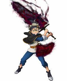Asta Black Clover Anime, Anime Stickers, Black Cover, Manga Books, Seraph Of The End, Anime Life, Sword Art Online, Awesome Anime, My Hero Academia