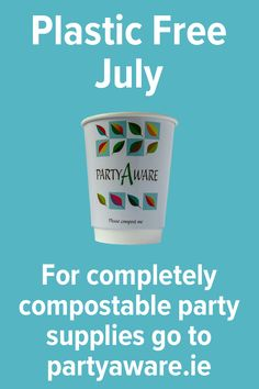 For completely compostable party supplies go to partyaware.ie. Plastic Free July, Footprint, Compost, Feel Good, Party Supplies, Feeling Great Quotes, Party Items, Foot Prints, Composters