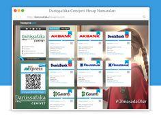App.net | hesapnocom photo: Darussafaka Cemiyeti QR Kod ve BKM Express uygu...