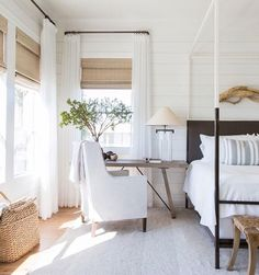 Bedroom style but not window treatments