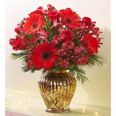 Royal Red Christmas Bouquet - Large