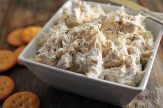 Chicken Sandwich Spread Recipe Chicken Ranch Dip Recipe, Cream Cheese Chicken Dip, Can Chicken Recipes, Chicken Dips, Dip Recipes, Appetizer Recipes, Cooking Recipes, Appetizers, Canned Chicken