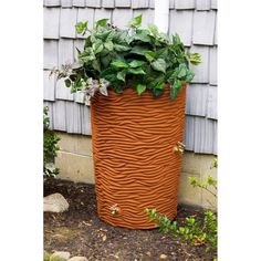 Good Ideas Impressions 50 Gallon Palm Rain Saver - Terra Cotta