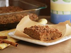 Multiply Delicious- The Food | Banana Spice Coffee Cake
