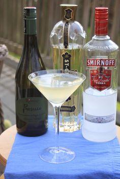 The Laurs 75 {St. Germain, Vodka, Lemon, & Prosecco}