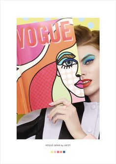 Colour Lover: Vogue Japan by Lacey