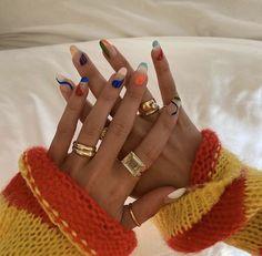 Nagellack Design, Nagellack Trends, Minimalist Nails, Minimalist Fashion, Nail Swag, Stylish Nails, Trendy Nails, Classy Nails, Nail Jewelry
