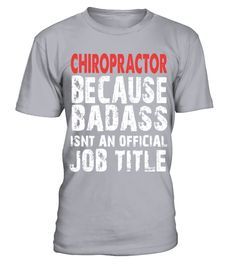 # Chiropractor Job Title Shirt T Shirt .  HOW TO ORDER:1. Select the style and color you want: 2. Click Reserve it now3. Select size and quantity4. Enter shipping and billing information5. Done! Simple as that!TIPS: Buy 2 or more to save shipping cost!This is printable if you purchase only one piece. so dont worry, you will get yours.Guaranteed safe and secure checkout via:Paypal | VISA | MASTERCARD