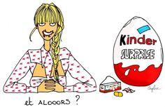 Bonne soirée IG  #angelinemelin#illustration#potd#kinder#chocolate#miumiu#love
