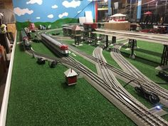 Lionel Trains Layout, Third Rail, Train Table, Model Train Layouts, Train Set, Model Trains, Ideas, Trains, Thoughts