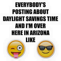 Daylight savings time? What's that?