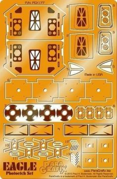 Other Sci-Fi Models and Kits 1193: Paragrafix 1 72 Space 1999: Eagle 1 Transporter Photo-Etch Set 177 For Mpc -> BUY IT NOW ONLY: $32.5 on eBay!
