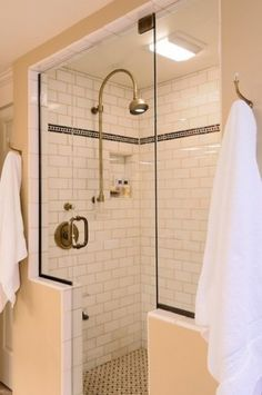 subway tile with basketweave tile floor