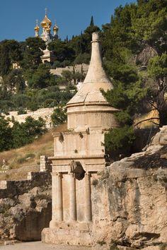 Yad Avshalom tomb in the Kidron Valley, Jerusalem, ISRAEL.