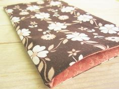 Mobile phone cell phone pocket pouch sleeve wallet by poppyshome, €7.50
