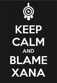 Code Lyoko: Keep Calm- XANA by Hyper-Knux on DeviantArt