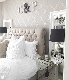 Sypialnia styl Glamour - zdjęcie od PRIMAVERA-HOME.COM - Sypialnia - Styl Glamour - PRIMAVERA-HOME.COM