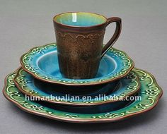Source Round embossed ceramic dinnerware set with crackled glaze on m.alibaba.com