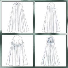Princess Cape - would love to make this.