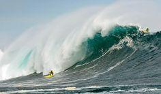 Surf de olas grandes, Punta de Lobos, Chile   Fotos extremas