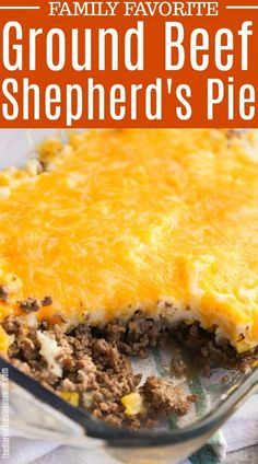 The BEST Shepherd's Pie! This one is a recipe my kids love. The BEST Shepherd's Pie! This one is a recipe my kids love. Shepards Pie Easy, Best Shepherds Pie Recipe, Shepherds Pie Recipe Pioneer Woman, Shepherds Pie Recipe With Ground Beef, Hamburger Meat Recipes Ground, Best Ground Beef Recipes, Ground Beef Recipes For Dinner, Ideas, Burgers