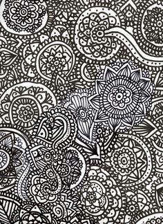 zentanglet art echo por mi misma #zentangletart #elartedelapulpo
