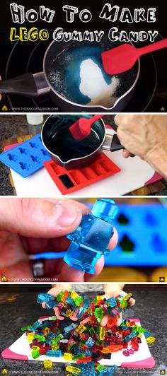 If Your Kids Love LEGO, You Gotta Try Out This Epic Recipe Idea! - How To Make LEGO Gummy Candy! – Video Tutorial