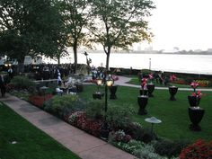 Canadian Club overlooking the beautiful Detroit River http://weddingshows.com