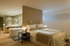 Luxury Master Bedrooms | Luxury Villas Sète France | Interior Design Project | Fabric Space